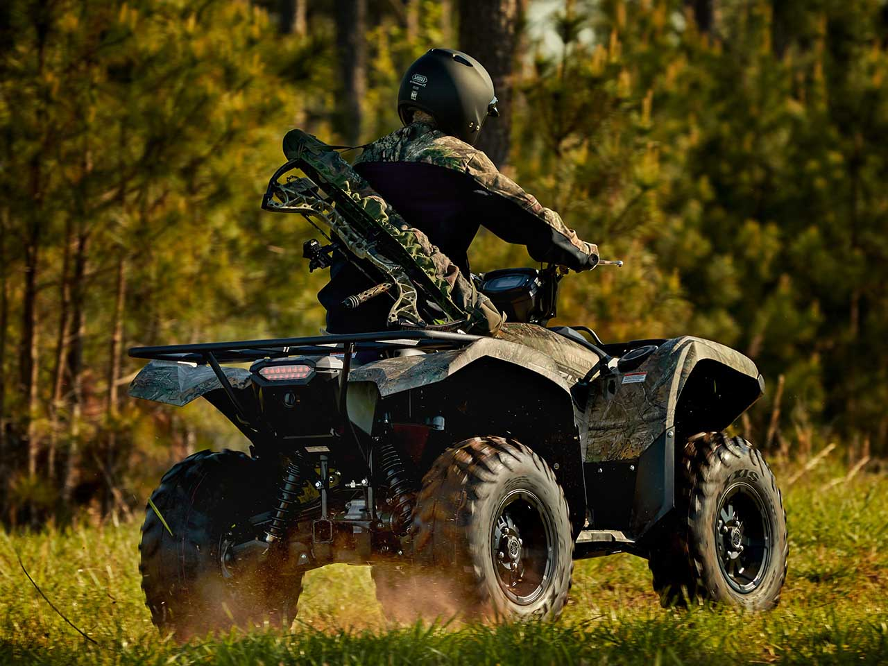2020 Yamaha Grizzly 700 Camo Gallery 1